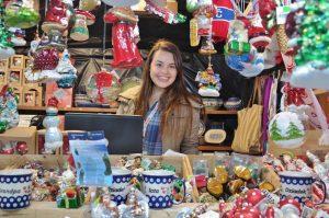Christmas Village Down town Charlotte