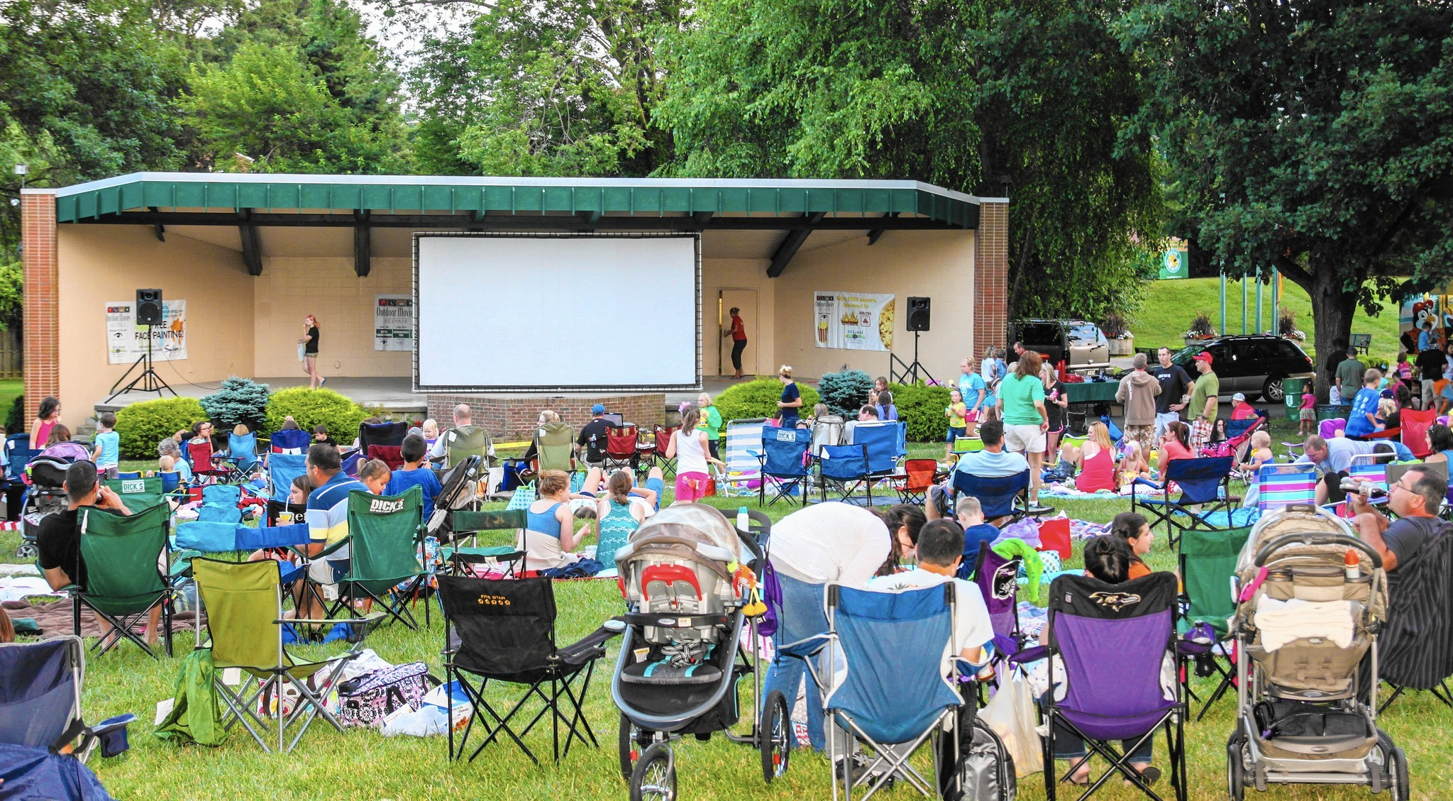 free family movie night Bel Air