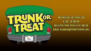 trunk or treat Joppa